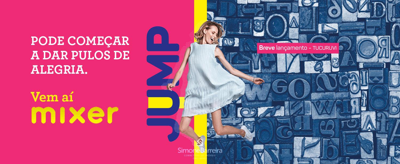 lançamento Mixer Jump Tucuruvi   1 e 2 dorms com vagaSimone Barreira –  Corretora de Imóveis em Guarulhos e372648ddf